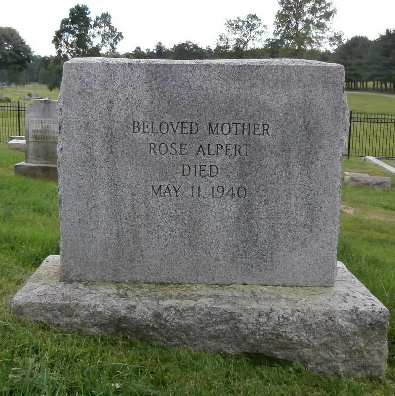 Rose Alpert ( - 1940) Find A Grave Memorial