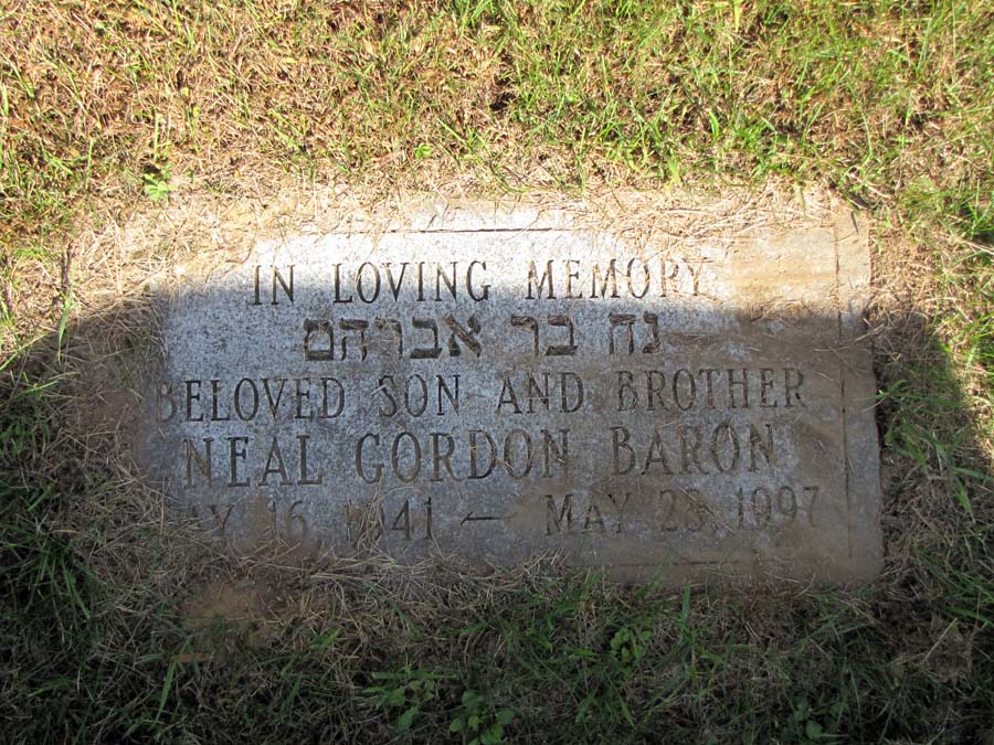 Neal Gordon Baron (1941 - 1997) Find A Grave Memorial