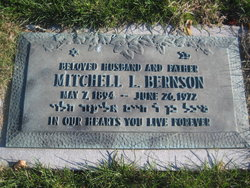 Mitchell Louis Bernson (1894 - 1972) Find A Grave Memorial