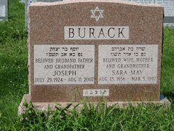 Sara M. Onners Burack (1936 - 1997) Find A Grave Memorial