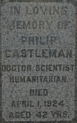 Philip Castleman (1882 - 1924) Find A Grave Memorial