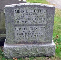 Minnie Chafitz (1897-1979) - Find A Grave Memorial