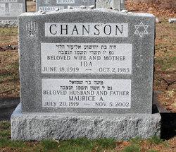 Maurice A. Chanson (1919 - 2002) Find A Grave Memorial