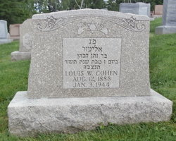 Louis W. Cohen (1888 - 1944) Find a Grave Memorial
