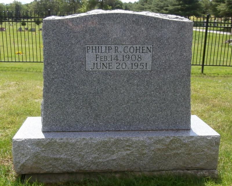 Philip R. Cohen (1908 - 1951) Find A Grave Memorial