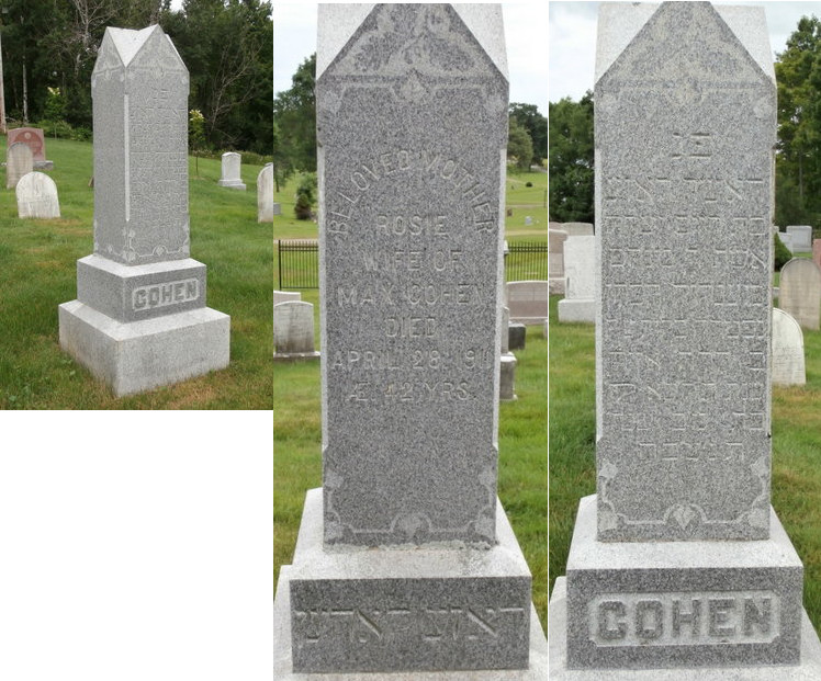 Rosie Cohen (1869 - 1911) - Find A Grave Memorial