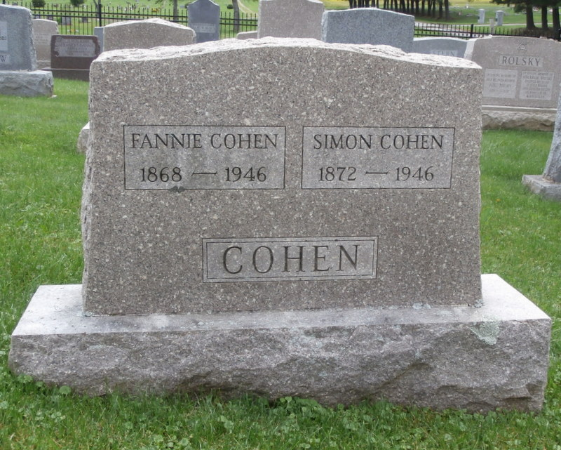 Simon Cohen (1872 - 1946) Find A Grave Memorial