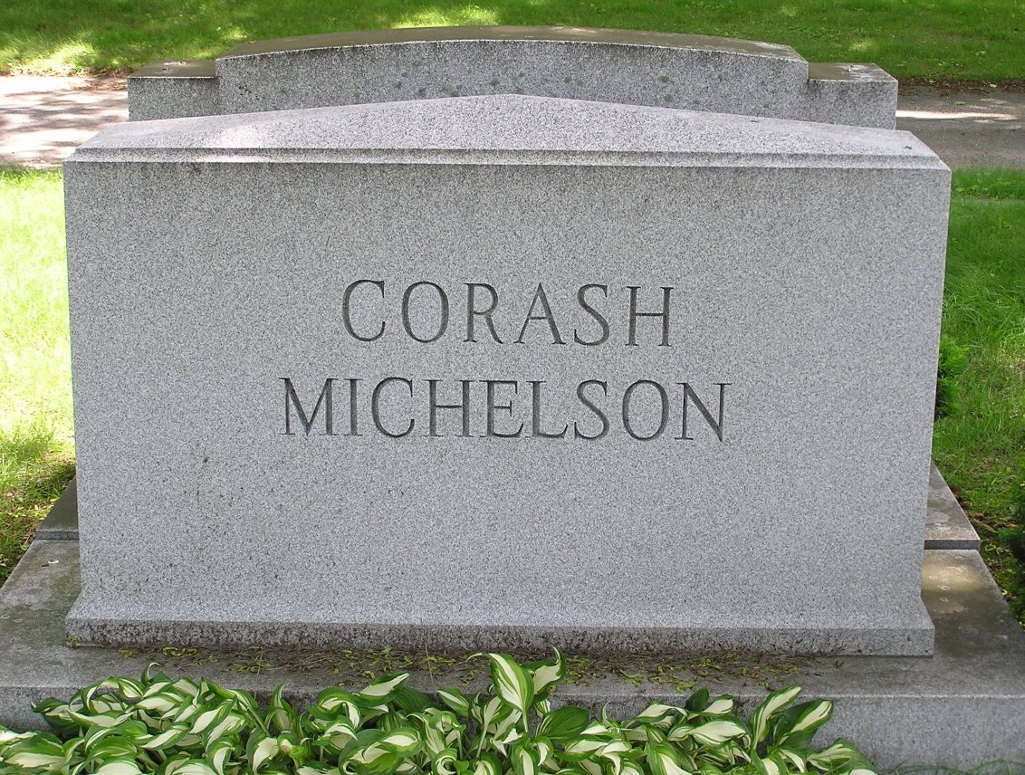 Family Marker of Corash Michelson Family