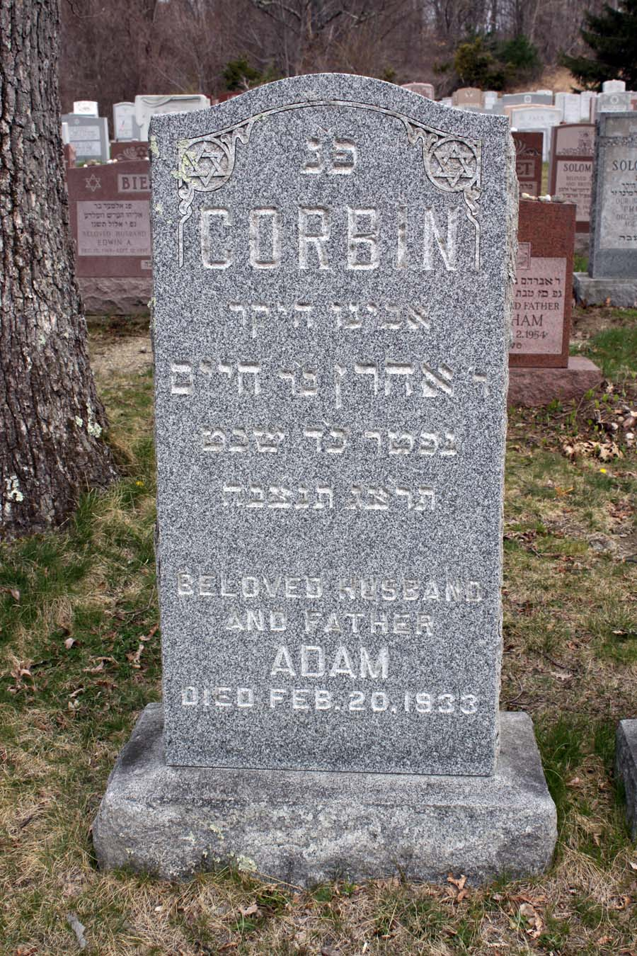 Adam Corbin (1866 - 1933) Find A Grave Memorial