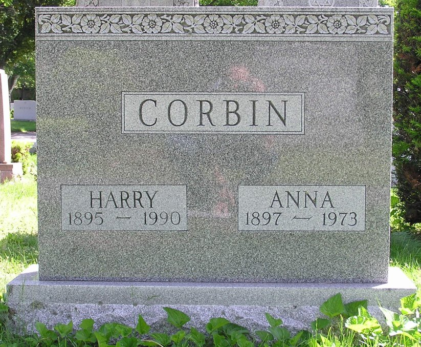 Harry Corbin (1895-1990) - Find A Grave Memorial