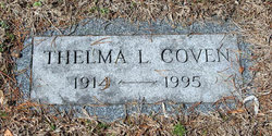Thelma Cotzin Coven (1914 - 1995) Find A Grave Memorial