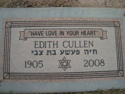 Edith Cullen (1905 - 2008) - Find A Grave Memorial