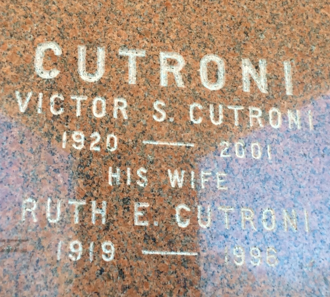 Ruth E. Cutroni (1919 - 1996) Find A Grave Memorial