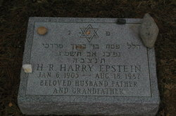 Harold Robert Epstein (1905 - 1987) Find A Grave Memorial