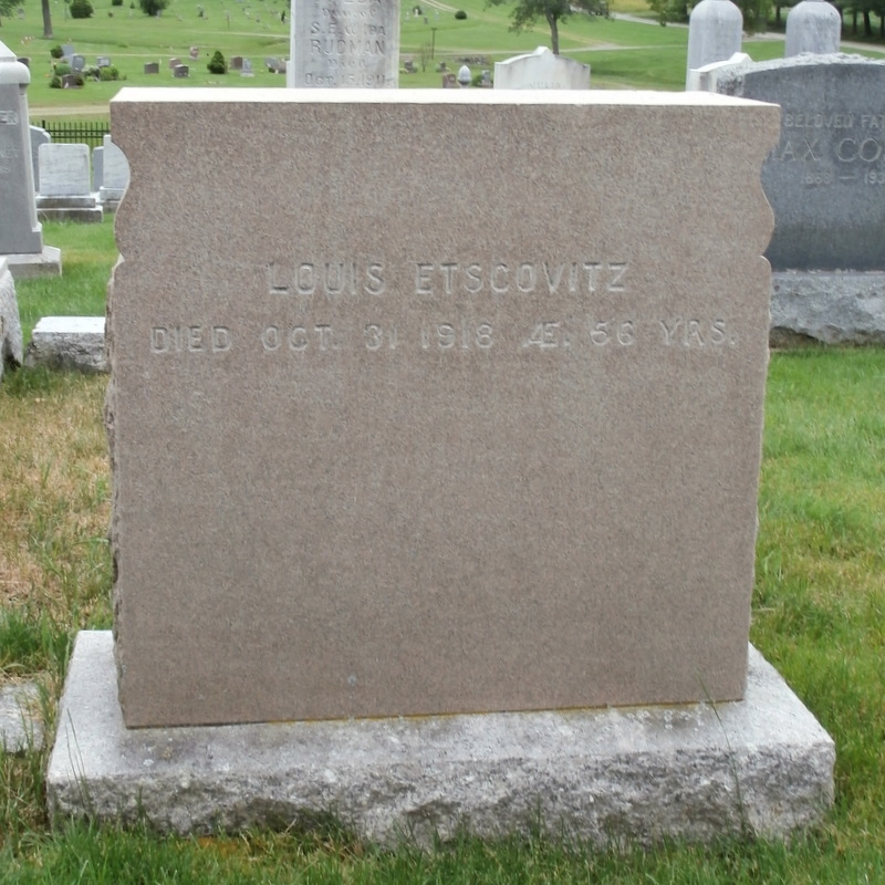 Louis Etscovitz (1862 - 1918) Find A Grave Memorial
