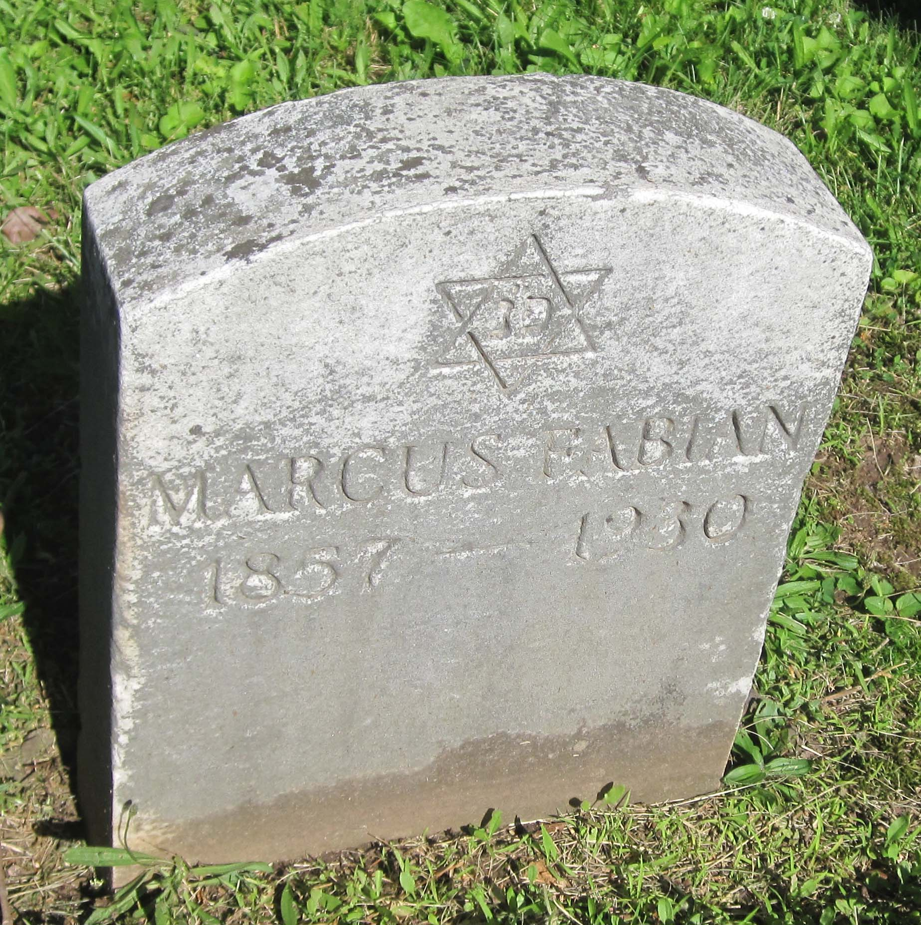 Marcus Fabian (1857 - 1930) Find A Grave Memorial