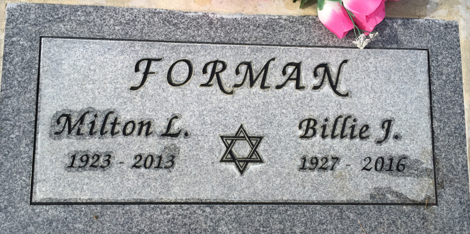 Billie June Forman (1927 - 2016) Find A Grave Memorial