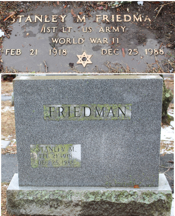 Stanley M. Friedman (1918 - 1988) Find A Grave Memorial