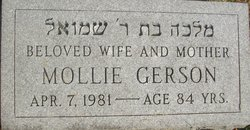 Mollie Gerson (1896 - 1981) Find A Grave Memorial