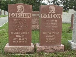 Ida (Chaie) Gordon Gordon (1874 - 1951) Find A Grave Memorial