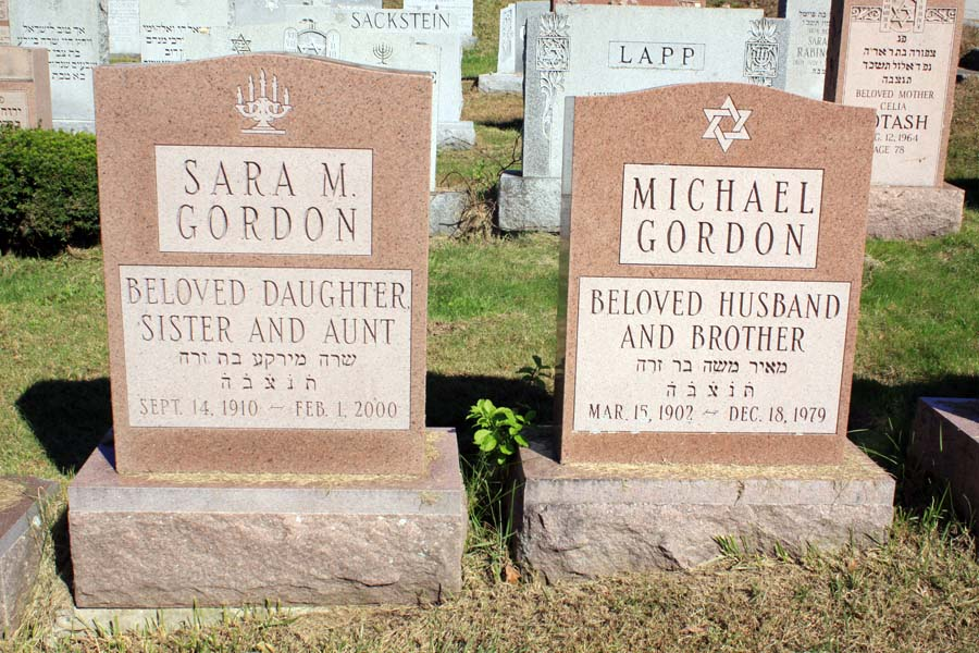 Sara Gordon (1910 - 2000) Find A Grave Memorial