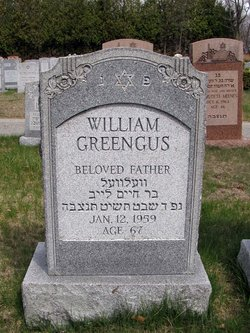 William Greengus (1892 - 1959) - Find A Grave Memorial