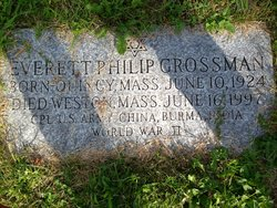 Everett Philip Grossman (1924 - 1997) Find A Grave Memorial