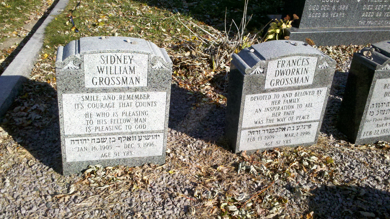 Sidney William Grossman (1905 - 1996) Find A Grave Memorial