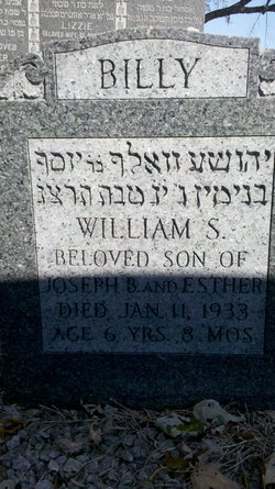 William Sidney 'Billy' Grossman (1926 - 1933) Find A Grave Memorial