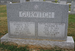 Hyman 'B.G.' Gurwitch (1911 - 2005) - Find A Grave Memorial