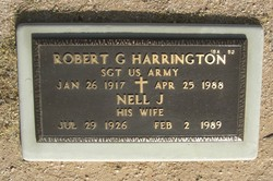 Robert G Harrington (1917 - 1988) Find A Grave Memorial