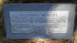 Sylvia M. Harrington (1914 - 1994) Find A Grave Memorial