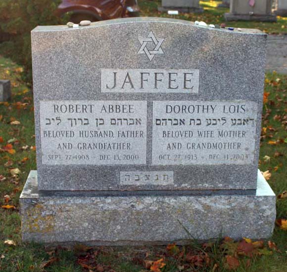 Robert Abbee Jaffee (1908 - 2000) Find A Grave Memorial