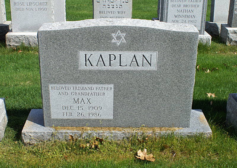 Anne Diamond Kaplan (1920 - 1999) Find A Grave Memorial