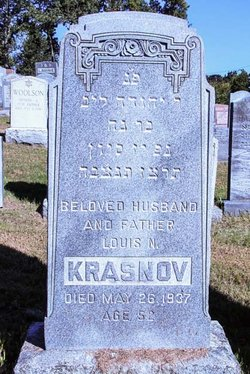 Louis N. Krasnov (1885 - 1937) Find A Grave Memorial