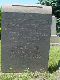 Jacob Simon Lear (1823 - 1902) Find A Grave Memorial