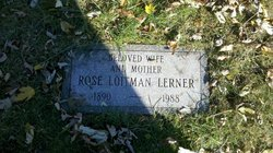 Rose Loitman Lerner (1890 - 1988) Find A Grave Memorial