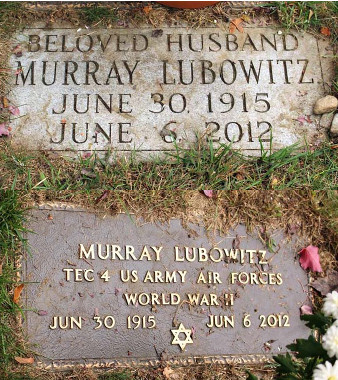 Murray Lubowitz (1915 - 2012) Find A Grave Memorial
