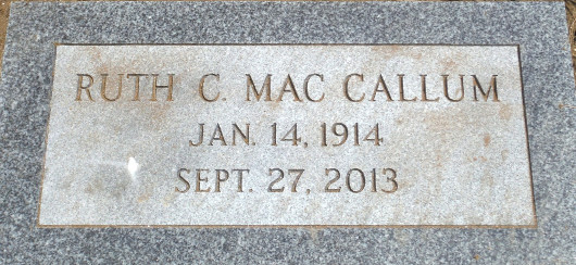 Ruth Clare Harris MacCallum (1914 - 2013) Find A Grave Memorial
