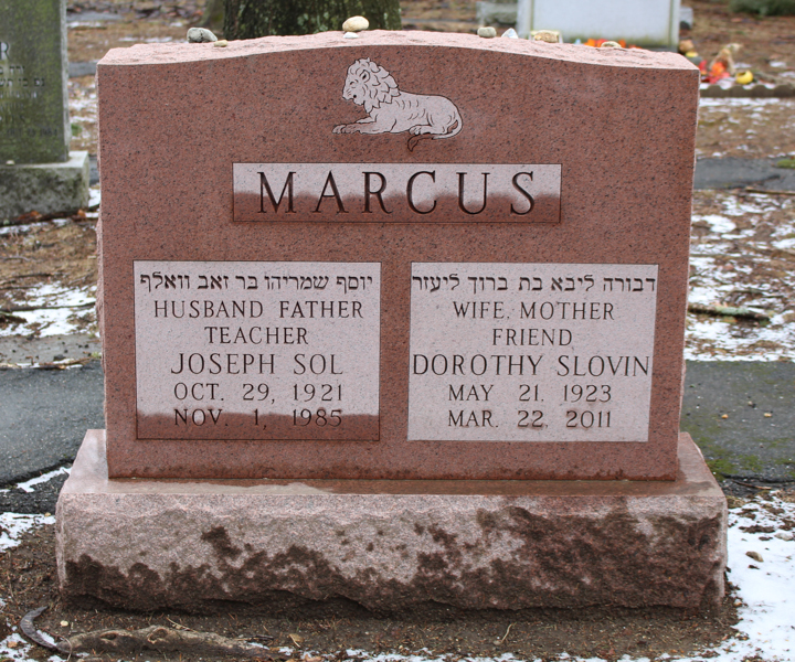 Dorothy Slovin Marcus (1923 - 2011) Find A Grave Memorial