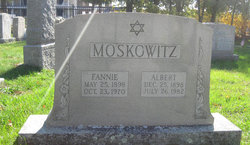 Albert Moskowitz (1898 - 1982) Find A Grave Memorial