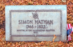 Simon Nathan (1746 - 1822) Find A Grave Memorial