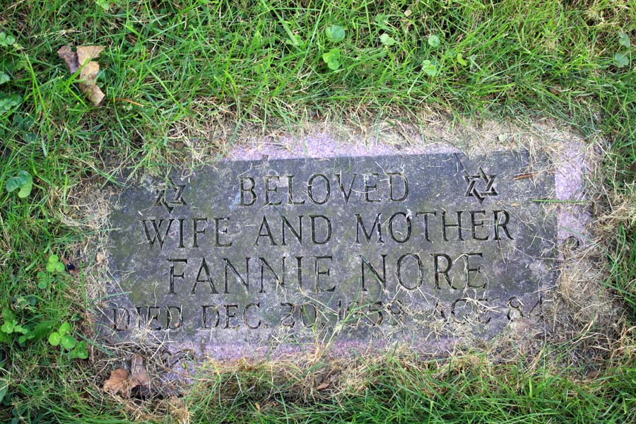 Fannie Zieper Nore (1875 - 1959) Find A Grave Memorial