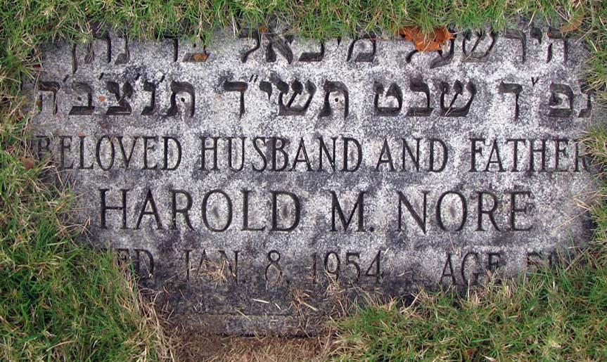 Harold M. 'Mickey' Nore (1902 - 1954) Find A Grave Memorial