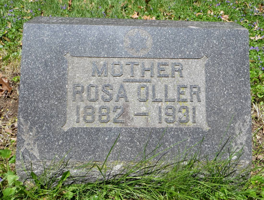 Rose Pochter Oller (1881 - 1931) Find A Grave Memorial