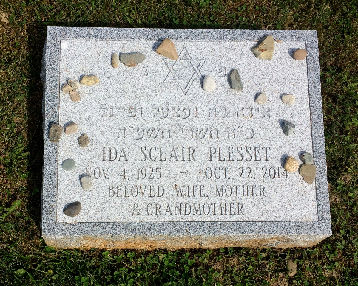 Ida Sclair Plesset (1925 - 2014) Find A Grave Memorial