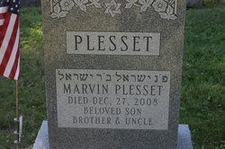 Marvin Plesset ( - 2008) Find A Grave Memorial