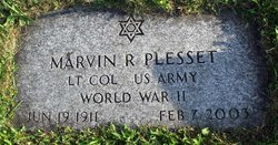 LTC Marvin Robert Plesset (1911 - 2003) - Find A Grave Memorial