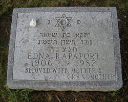 Edna Rapaport (1906 - 1982) - Find A Grave Memorial