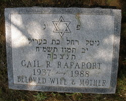Gail R. Rapaport (1937 - 1988) - Find A Grave Memorial